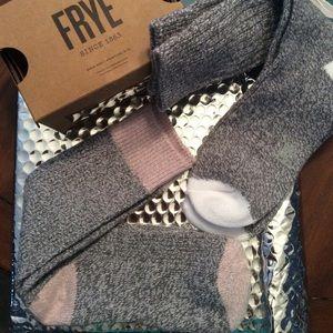 Frye Accessories - FRYE Super-soft Boot Socks- 2 pair NWT Grey